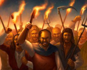 angry peasants