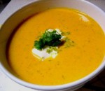 Carrot Soup with Orange and Mint