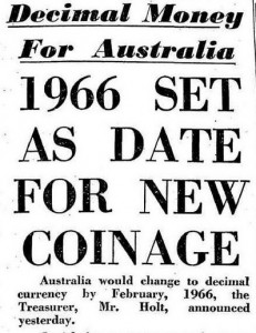 Australian Decimal Date Decided
