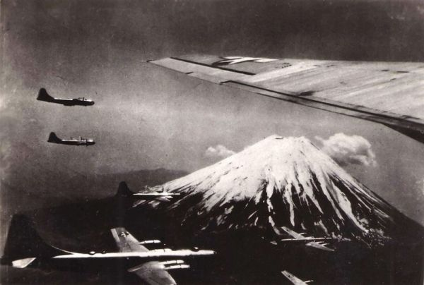 The Allied Plot to Dye Mt Fuji black
