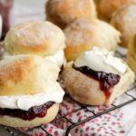 Scones with Jam and Cream